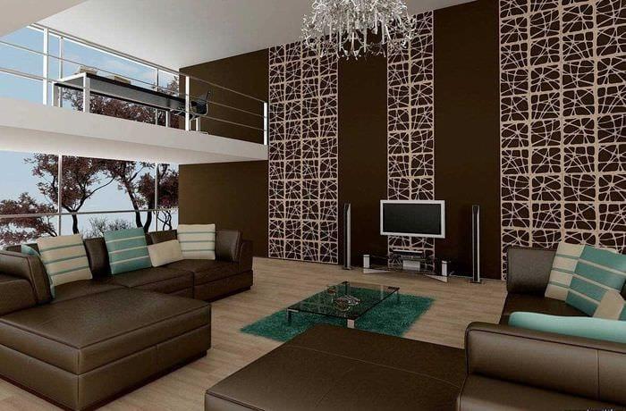 красивый декор гостиной со стеновыми панелями