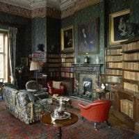 красивый декор квартиры в викторианском стиле фото