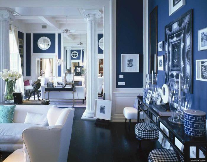 красивый дизайн комнаты в средиземноморском стиле