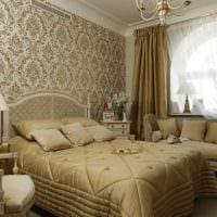 красивый декор гостиной в стиле ампир картинка