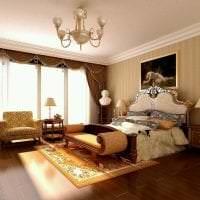 яркий дизайн спальни в греческом стиле фото