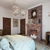 необычный интерьер комнаты в стиле рустик фото