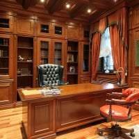 красивый декор гостиной в викторианском стиле картинка