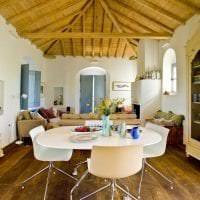 красивый интерьер дома в греческом стиле фото
