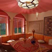 необычный фасад спальни в восточном стиле картинка