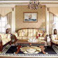 необычный дизайн комнаты в стиле ампир фото