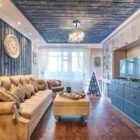 яркий декор квартиры со стеновыми панелями фото