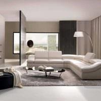 необычный декор квартиры в стиле модерн картинка