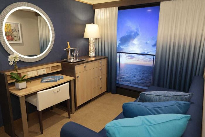 необычный декор спальни