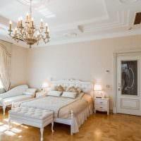 красивое декорирование интерьера комнаты в стиле прованс картинка