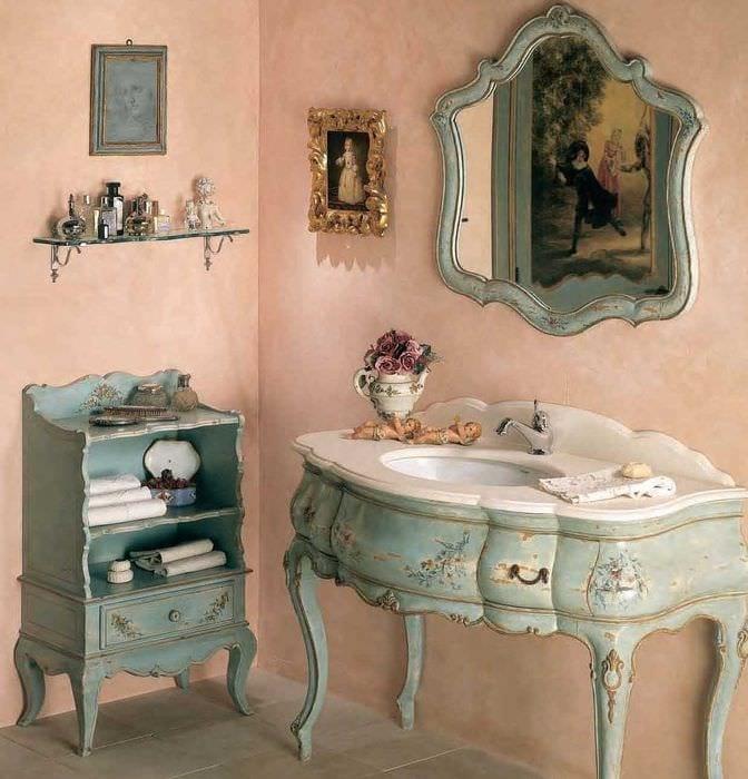 необычное декорирование интерьера комнаты в стиле прованс
