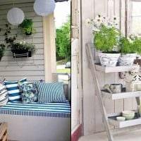 красивое оформление интерьера комнаты в стиле прованс фото