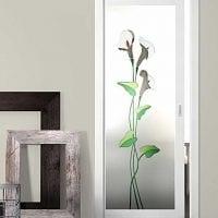 оригинальное украшение межкомнатных дверей своими руками картинка