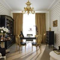 оригинальный декор спальни в стиле ампир фото
