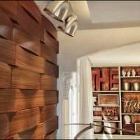 красивый дизайн комнаты со стеновыми панелями картинка