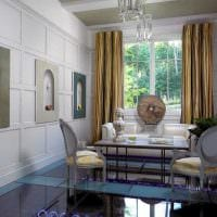 яркий декор спальни со стеновыми панелями картинка