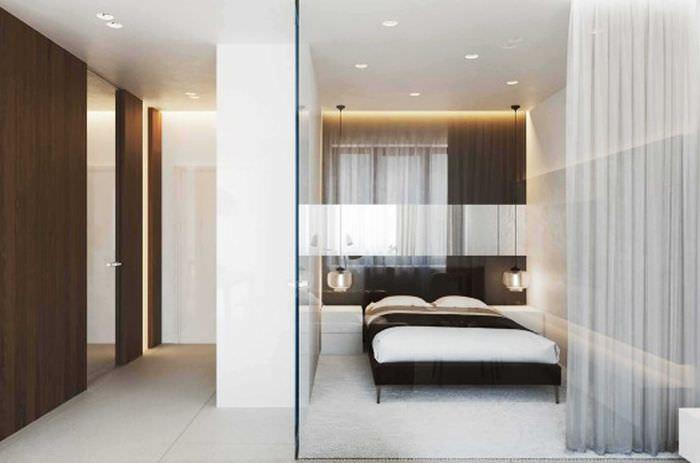красивый стиль спальной комнаты