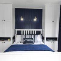светлый стиль спальной комнаты картинка