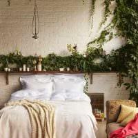 необычный дизайн спальной комнаты фото