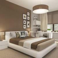 светлый стиль спальной комнаты фото