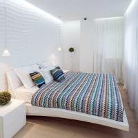 оригинальный дизайн спальной комнаты фото