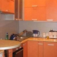 сочетание яркого оранжевого в стиле дома с другими цветами картинка