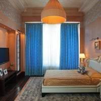 сочетание темного оранжевого в дизайне квартиры с другими цветами фото