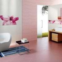 сочетание светлого розового в интерьере кухни с другими цветами картинка