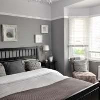 сочетание темного серого цвета в стиле дома фото