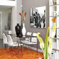 сочетание темного серого в стиле комнаты с другими цветами фото