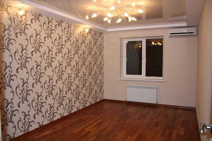 душе твоей ремонт зала в квартире с обоями фото хоть есть