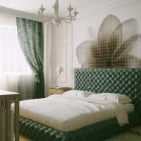 сочетание ярких оттенков в стиле спальни фото