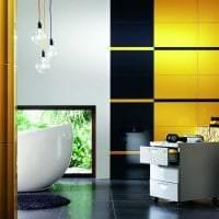 сочетание светлого оранжевого в стиле квартиры с другими цветами картинка