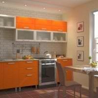 сочетание яркого оранжевого в интерьере дома с другими цветами картинка