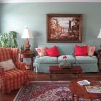 сочетание темного розового в декоре комнаты с другими цветами картинка