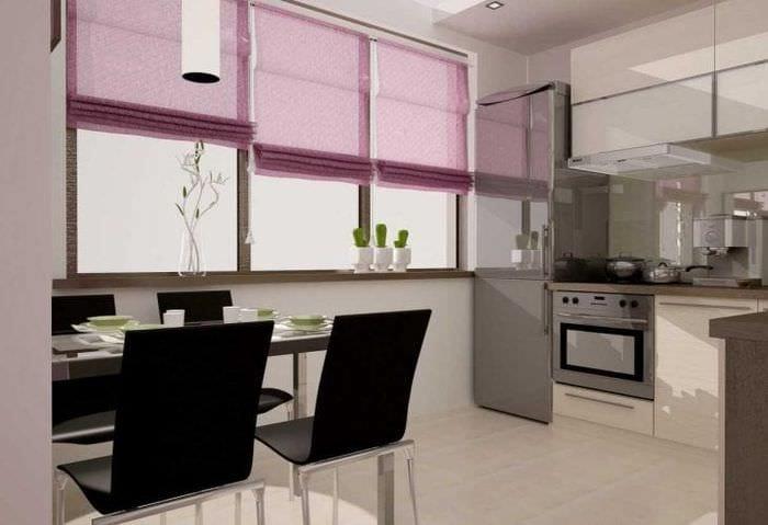 сочетание светлого розового в дизайне комнаты с другими цветами