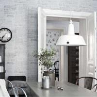 сочетание светлого серого цвета в интерьере квартиры картинка
