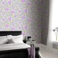 сочетание яркого серого в дизайне комнаты с другими цветами фото