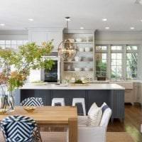 сочетание светлого серого в интерьере комнаты с другими цветами фото