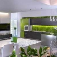 сочетание темного серого в дизайне кухни с другими цветами картинка