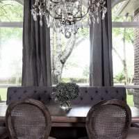 сочетание яркого серого в стиле гостиной с другими цветами картинка
