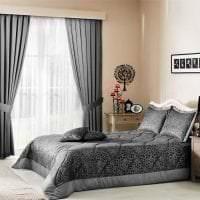 сочетание яркого серого в дизайне дома с другими цветами фото