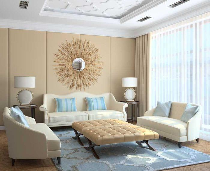 сочетание светлого серого в интерьере спальни с другими цветами