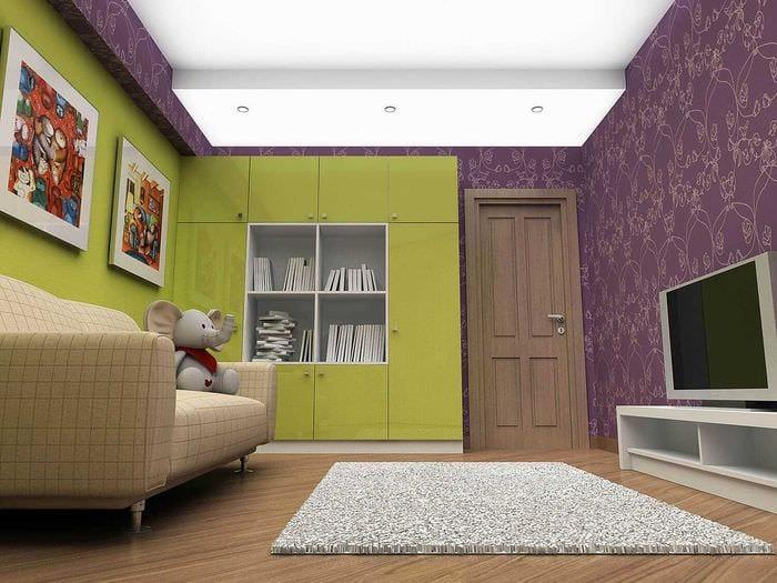 комбинирование светлых цветов в интерьере спальни