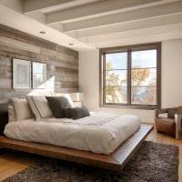 комбинирование светлых цветов в дизайне спальни фото