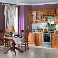 сочетание светлых цветов в стиле кухни фото