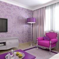 комбинирование темных цветов в декоре комнате картинка