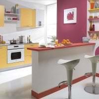 сочетание яркого розового в интерьере квартиры с другими цветами картинка