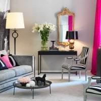сочетание светлого розового в декоре спальни с другими цветами фото