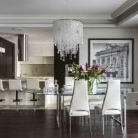 сочетание темного серого в интерьере квартиры с другими цветами картинка